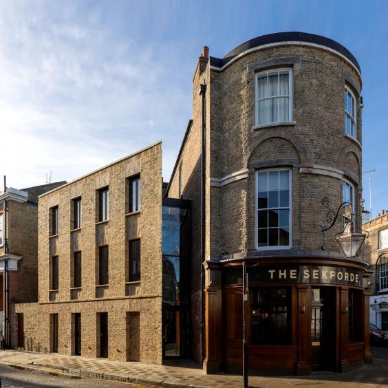 Sekforde Street Building Restoration