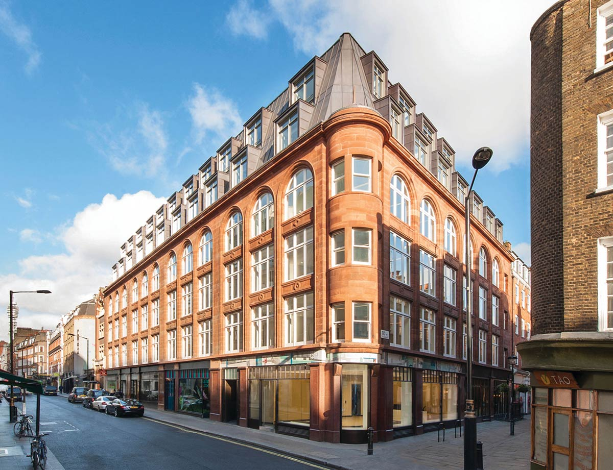 Wardour Street Building Restoration London